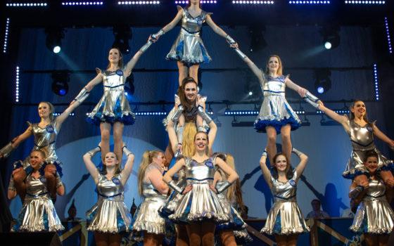 Schnuppertraining der Showgirls